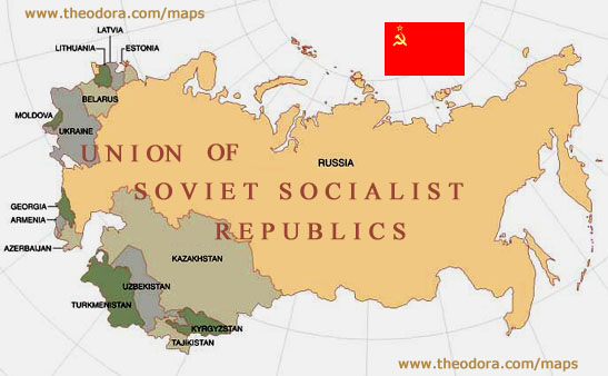 Maps Of USSR Soviet Union Maps Economy Geography Climate - Georgia map ussr