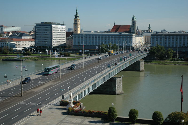 Image result for Hitler bridge in linz